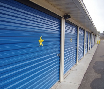 Gold Star Mini Storage - row of sheds